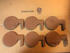 "AR500 Steel Targets Dueling Tree 6pcs DIY Kit 6"" x 3/8"" Swing Paddles! USA MADE!"