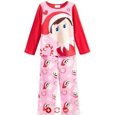 AME - Elf on the Shelf, Girls Toddler 2T, 2-Piece Pajamas