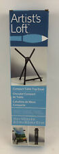 Artists Loft Compact Table Top Lightweight Aluminum Easel w/ Carrying Bag New