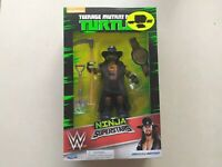 *WWE* TMNT Donatello as UNDERTAKER WWf ,WCW, by playmates toys, Nickelodeon