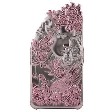 Apple iPhone 6, 6S Plus Luxury Case 3D Cover Angel Wing Lucky Star Pink