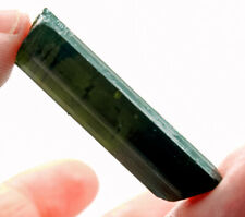 32.65Ct Natural Green Tourmaline Crystal Facet Rough Specimen YBGT1388