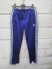 Pantalon ADIDAS violet rétro vintage Trefoil sport pant détente femme 34