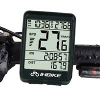 Wire Wireless Cycling Bike Computer Bicycle Waterproof Speedometer Odometer F2F6