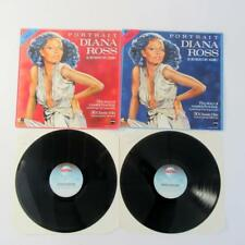 Diana Ross - Portrait - All Her Greatest Hits - Volume 1 & 2 (1983) Vinyl LPs
