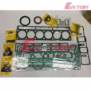 cat EXCAVATOR 3306 engine bearing gasket cylinder piston ring set