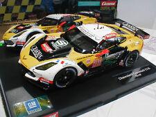 """Carrera Digital 124 23819 # Chevrolet Corvette C7.R Startnummer 50 """"gelb"""" 1:24"""