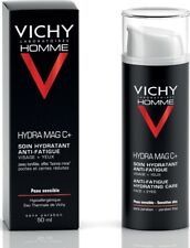 Vichy Homme Hydra Mag C+ Anti-fatigue Hydrating Care for Face & Eyes 50ml