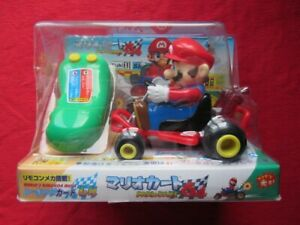 RARE ! VOITURE TELECOMMANDE MARIO KART 64 JAPAN  GOODIES EXCLUSIF N64 JAP