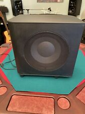 INFINITY TSS-1200 Home Theater BASS Speaker AMPLIFIED POWERED SUB WOOFER WORKS!