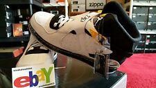 Nike Air Jordan AJF 8 Retro Fusion 1/022/10 WHT/BLK-VRSTY MAIZE 384522 102