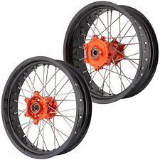 TORPEDO7 Supermoto CNC Wheel Set - KTM Cush Drive 17/5.0x17