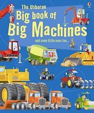 Big Book of Big Machines (Usborne Big Books), Minna Lacey, Very Good condition,