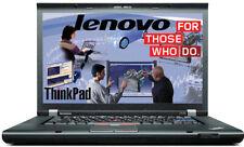 """Lenovo ThinkPad T430 Core i5 2.60GHZ  128GB 14""""1600 x 900  8GB  Nvidia W10 Pro"""