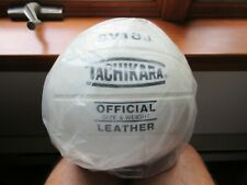 Tachikara SV18J  OFFICIAL  Leather  Volleyball ( WHITE ) SIZE & WEIGHT brand new