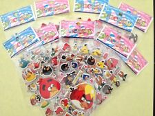 Angry Bird Stickers 10 Sheets Party Favours