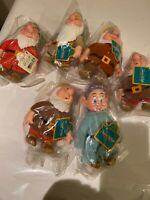 Vintage Applause Disney Snow White And The Seven Dwarfs Figures (5 New Dwarves!)