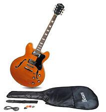 Benson B ES 335 1963 stile vintage chitarra ELETTRICA SEMI ACUSTICA HOLLOW BODY