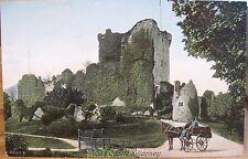 Irish Postcard ROSS CASTLE Lakes Killarney Ireland Jaunting Car Hartmann Inland