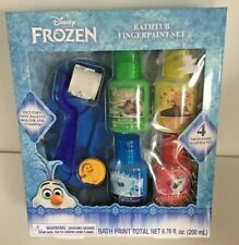 Disney Frozen Bathtub Fingerpaint Set with palette, roller & stamper included