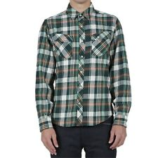 VOLCOM Men's ALASKA L/S Flannel Shirt - MNG - XL - NWT