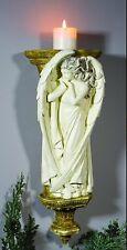 Wings of an Angel Statue Decor Figurine W/Small Shelf Wall Decor 2 Ways 2 Ship O