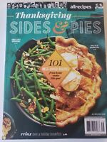 THANKSGIVING SIDES & PIES JANUARY 2021 BRAND NEW MAGAZINE/ SWEET & SPICY