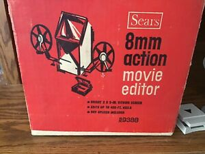 VINTAGE SEARS 8mm ACTION MOVIE EDITOR