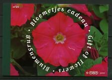 Nederland Prestigeboekje 15 Bloemetje cadeau **AANBIEDING**