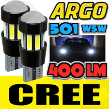 501 CREE SMD LED CANBUS SUPER PURE WHITE HIGH POWER WEDGE UPGRADE W5W T10 X2 HID