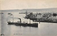 POSTCARD  SOUTH AFRICA  - DURBAN HARBOUR - THE POINT - RP