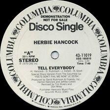 HERBIE HANCOCK Tell Everybody (1979 U.S. 2 Track White Label Promo 12inch)