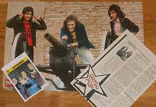 SANTABARBARA poster & articulos prensa 1970s spanish clippings pop español