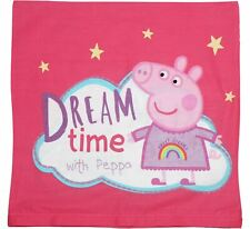 Peppa Pig Dream Time Square Zip Cushion Cover