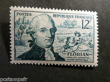 FRANCE 1955, timbre 1021, FLORIAN, neuf**, VF MNH STAMP, CELEBRITY