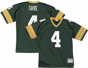 Brett Favre Green Bay Packers Mitchell & Ness 1996 Throwback Jersey