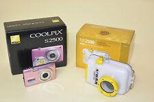 NIMAR NIS 2500 CUSTODIA SUB PER NIKON COOLPIX S2500 + fotocamera NIKON S2500