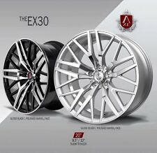 """AXE EX30 WHEELS RIMS 20"""" STAGGERED SETUP MUSTANG, G35, 350Z, ACCORD,GENESIS"""