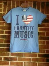 """Adult unisex size small Gildan t-shirt.  Says """"I ♡ Country Music"""""""