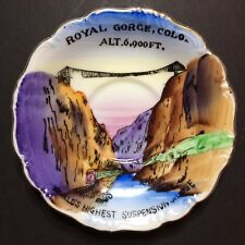 Vintage Royal George Colorado Decorative Collectible Souvenir Plate 4 7/8""