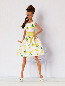 Lemon's dress for Poppy Parker, Nu face by Olgaomi