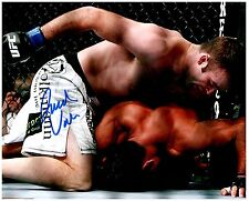 JACOB VOLKMANN Signed Autographed UFC MMA 8X10 PIC. A