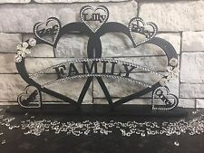 Personalised Family Plaque. Gift Christmas Wedding Birthday Mother's Day Sister