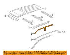 MERCEDES OEM 98-03 ML320-Exterior Roof Side Rail Left 1636370347