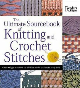 The Ultimate Sourcebook of Knitting and Crochet Stitches  (NoDust)