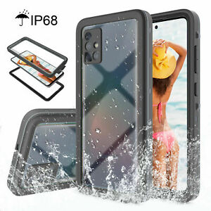 For Samsung Galaxy A51 A32 A52 A72 A12 A22 5G Waterproof Full Body Case Cover