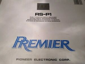 Pioneer ODR RS-P1 31 band EQ NIB old school RARE (Please read & notice pictures)