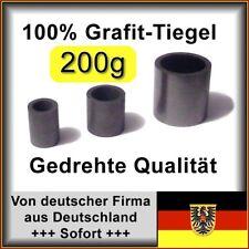 Präzisions-Grafittiegel, 200g Gold Tiegel Grafit Giessen Schmelztiegel