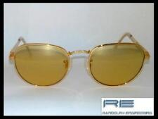 RANDOLPH ENGINEERING SKULL GOLD LENSES GOLD Frame RE251 53/19 SUNGLASSES