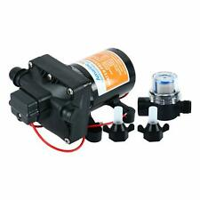 42-Series Water Pressure Diaphragm Pump w/ Variable Flow 12v, 3.0GPM, 55PSI  A+